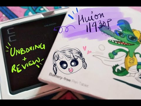 Unboxing and review video of HUION H430p Drawing Tablet || Sunday vlog||  22July'18