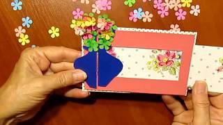 Сделать подарок Маме Своими Руками На День Рождения, День Матери,8 Марта Поделки из бумаги с детьми