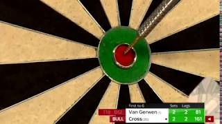 Rob Cross EXCELLENT 161 Checkout Under Pressure - 2018 PDC World Championship