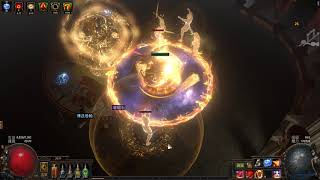 Path of exile 3.11 Righteous Fire T16