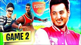 GAME #2  ON CONTINUE LE TOURNOI