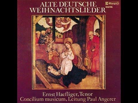 Alte Weihnachtslieder Deutsch.Ernst Haefliger Alte Deutsche Weihnachtslieder Ave Maria So Grüsst Der Engel