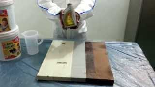 "How to apply "" Oil Remover"" - Cleaner & Degreaser"