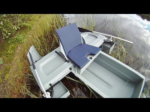 Short overview of a portable mini boat.
