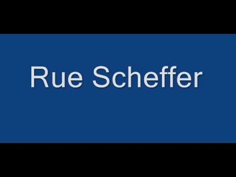 Rue Scheffer Paris Arrondissement  16e