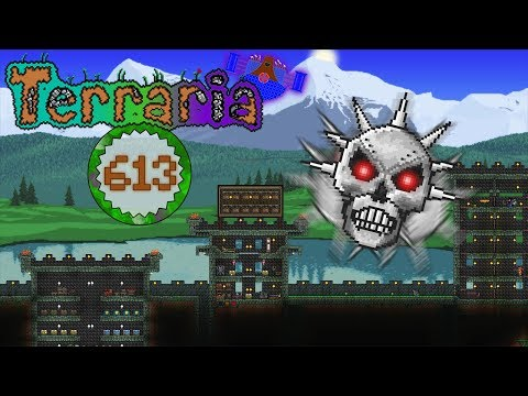 Terraria Part 613 - DEFEATING DUNGEON GUARDIAN PRIME