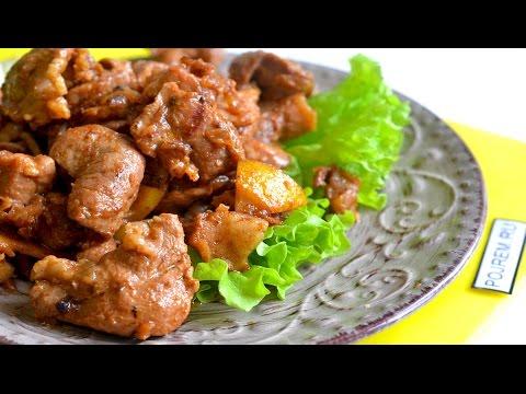 Как вкусно приготовить свинину на сковороде всего за 40 минут