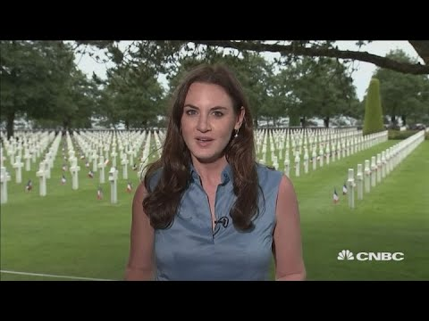 Leaders Mark 75th Anniversary of D-Day