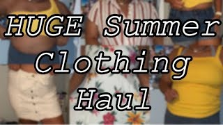 HUGE Try-On Clothing Haul || Summer 2019 || Simply Syd