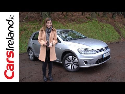 Volkswagen e-Golf Review | CarsIreland.ie
