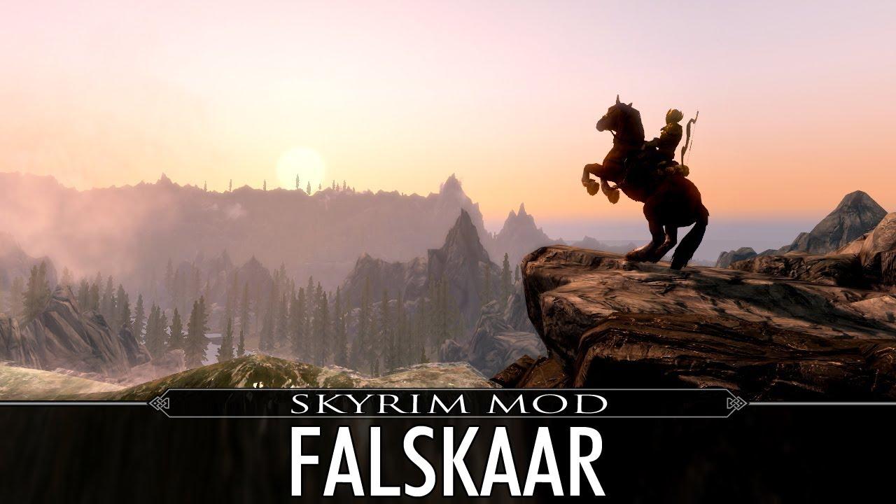 Skyrim Mod Feature: Falskaar - YouTube
