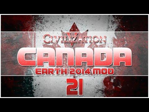 Civilization V - Earth 2014 Mod as Canada - Episode 21 ...The Fall of Jerusalem...