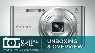 Sony DSC W830 Cyber Shot Digital Camera 20.1 Megapixel | Unboxing & Overview