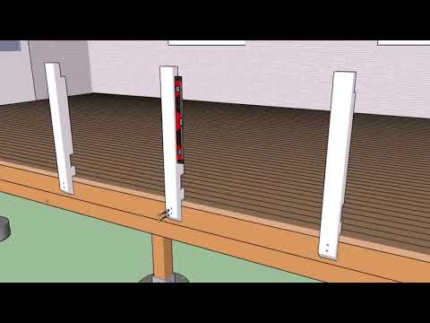 Diy Wood Deck Railing Plans