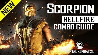 Download Video Mortal Kombat X: SCORPION (Hellfire) NEW Combo Guide MP3 3GP MP4