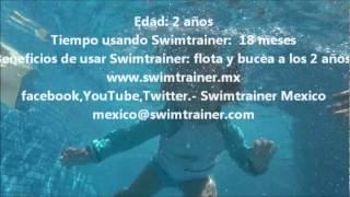 Salvavidas Entrenador de Natacion Swimtrainer Classic Nadando SOLA a los 2años(Swimtrainer Classic es un ENTRENADOR DE NATACION de origen Aleman. En este video podran observar la cronolgia de esta pequeñita desde los 04 meses ..., 2012-04-16T05:54:23.000Z)