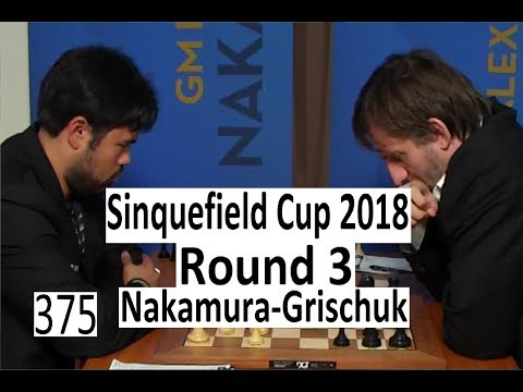 2018 Sinquefield Cup Round 3 - Two Bridesmaids on the board!