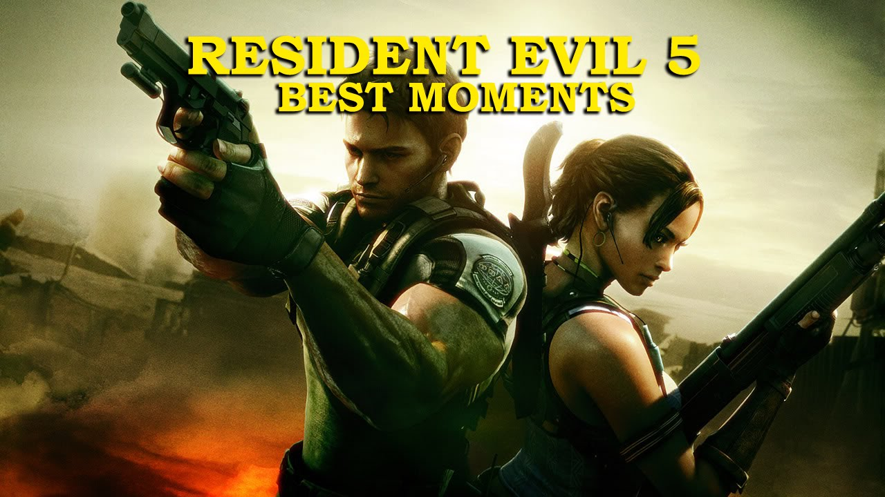 Resident Evil 5 Top Moments Youtube