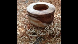 """Wood Turning """" Pot Project"""""""