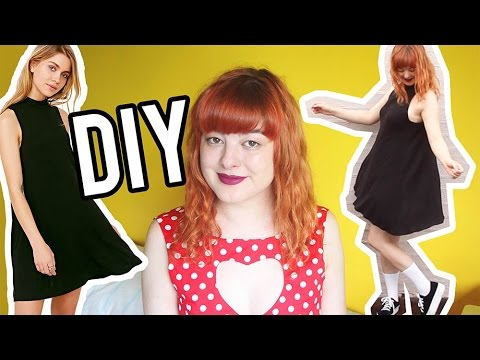 DIY Swing Dress | Make Thrift Buy #30