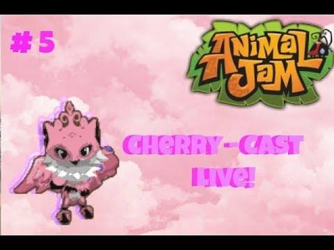 Cherry-Cast Live #5! Animal Jam Stream