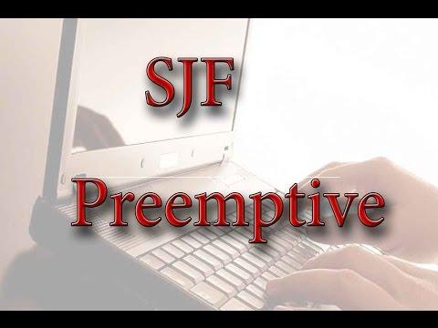 بالعراقي Preemptive SJF