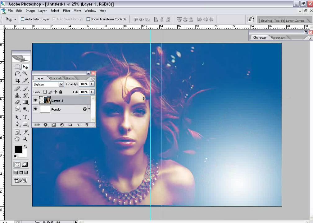 Tutoriais Photoshop: Fazendo capa de CD