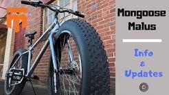 Mongoose Malus Updates and FAQ info - Fat Tire Bike