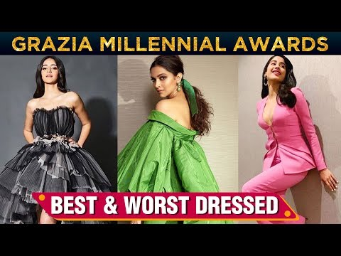 Ananya Panday, Deepika Padukone, Janhvi Kapoor | Best & Worst Dressed At Grazia Millennial Awards Mp3