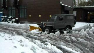 Repeat youtube video ジープJ24B除雪車 作業中