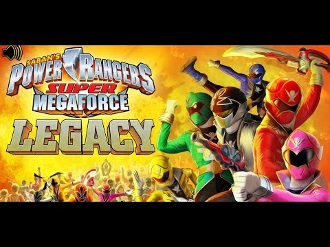 games power rangers super megaforce legacy update video youtube. Black Bedroom Furniture Sets. Home Design Ideas