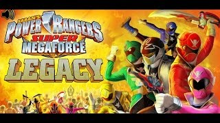 Games: Power Rangers Super Megaforce - Legacy (Update Video)