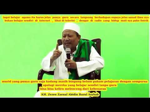 jawaban untuk wahabi arti musrik sirik dan bidah (alm kh Zezen Zaenal Abidin Bazul Asyhab)