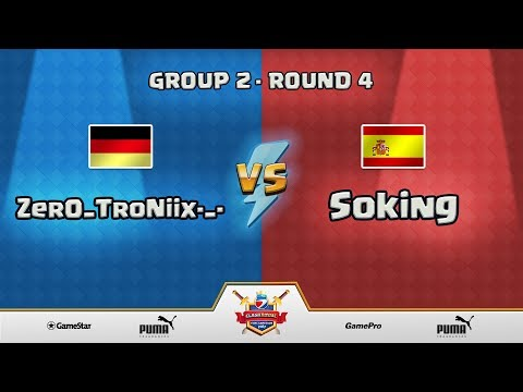 ESWC Gamescom 2017 Clash Royale - Group 2 - Round 4 - Zer0_TroNiix-_- vs Soking