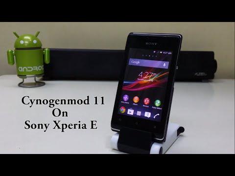 Install Android Kitkat 4.4.2 (CM11) on Sony Xperia E!