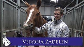Rick zadelt Verona * Hart voor Paarden *