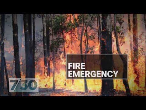 Heartbroken NSW Residents Evacuate As Bushfires Approach. | 7.30