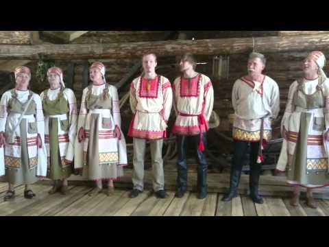 Russia - Vepses Shyoltozero Choir/ Вепсский хор, Шелтозеро