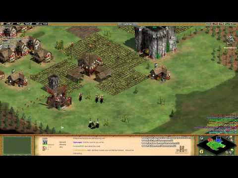 Aoe2 HD: Res and Aluroon go 2v6 on Arena (Indians)