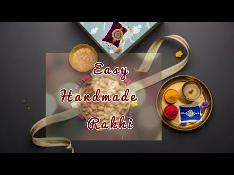 Handmade Rakhi for 2019 | DIY | Easy Designer Rakhi