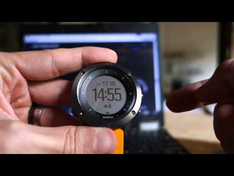 Suunto Traverse Review, 1: Time Mode Displays
