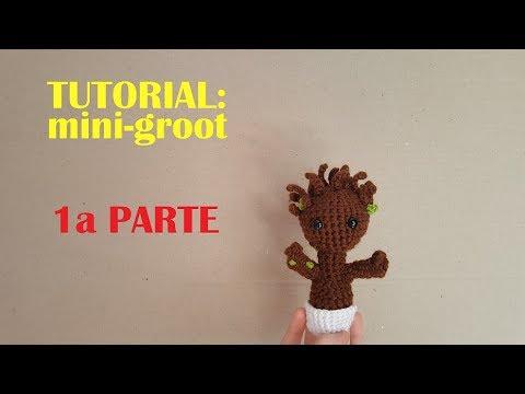 Crochet Little Baby Groot | Kawaii crochet, Knitting loom dolls ... | 360x480