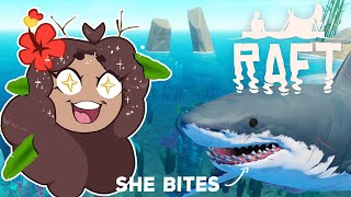 A DIVE for Ultimate Riches - and Shark Teeth?! 🦈Raft: Lost AGAIN • #17