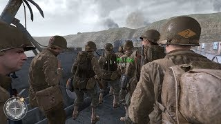 [1080P]決勝時刻2 Call Of Duty 2 Mission 17 遊騎兵開路先鋒,血戰奧克角 (片頭繁中字幕)