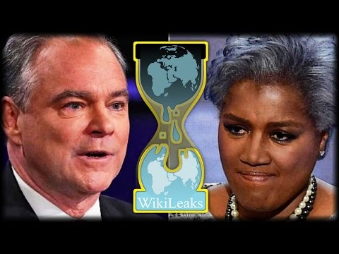DEMS BRACE FOR THE WORST AS WIKILEAKS THREATENS TIM KAINE AND DONNA BRAZILE