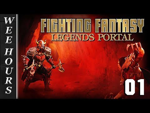 Fighting Fantasy Legends Portal: DEATHTRAP DUNGEON 01