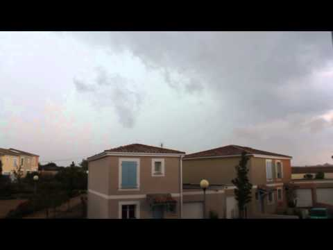 Orage 25.07.2014 - Béziers (Hérault)
