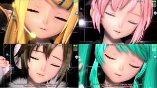 Repeat youtube video [HD 720p] Vocaloid (Miku, Luka ,Meiko, Rin) The Snow White Princess is