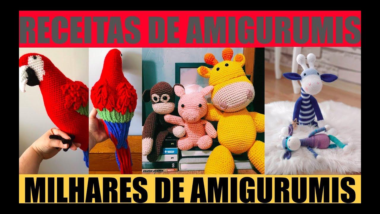 AMIGURIMI - JULLY O UNICÓRNIO - Capuchinhas - learn a new skill ... | 720x1280