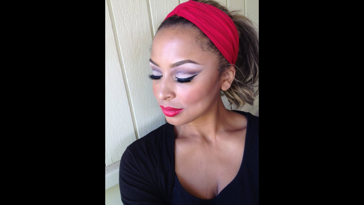 50s Pinup Makeup Tutorial // Marilyn Monroe / Maleficent